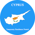 Cyprus Temporary Residence Permit blue