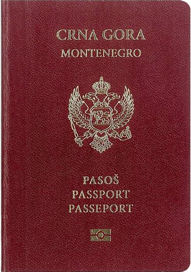 پاسپورت مونته نگرو